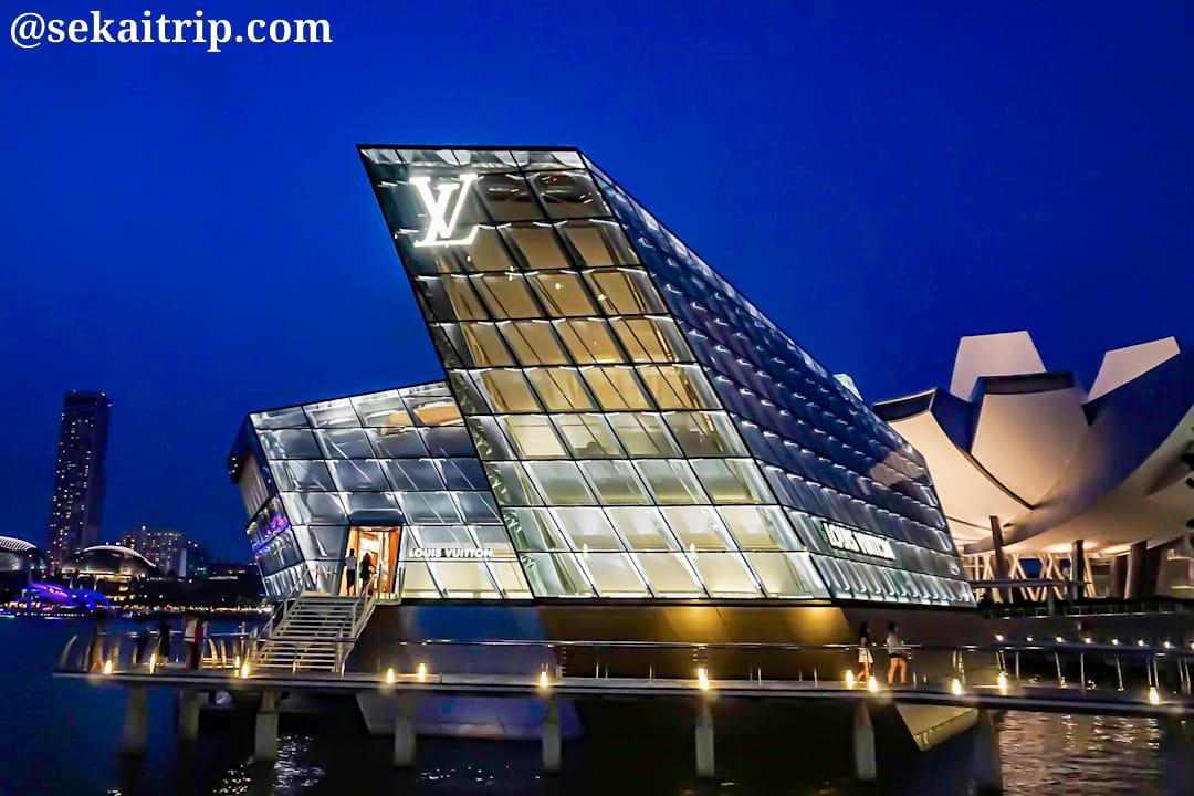 シンガポールのルイ・ヴィトン・アイランド・メゾン