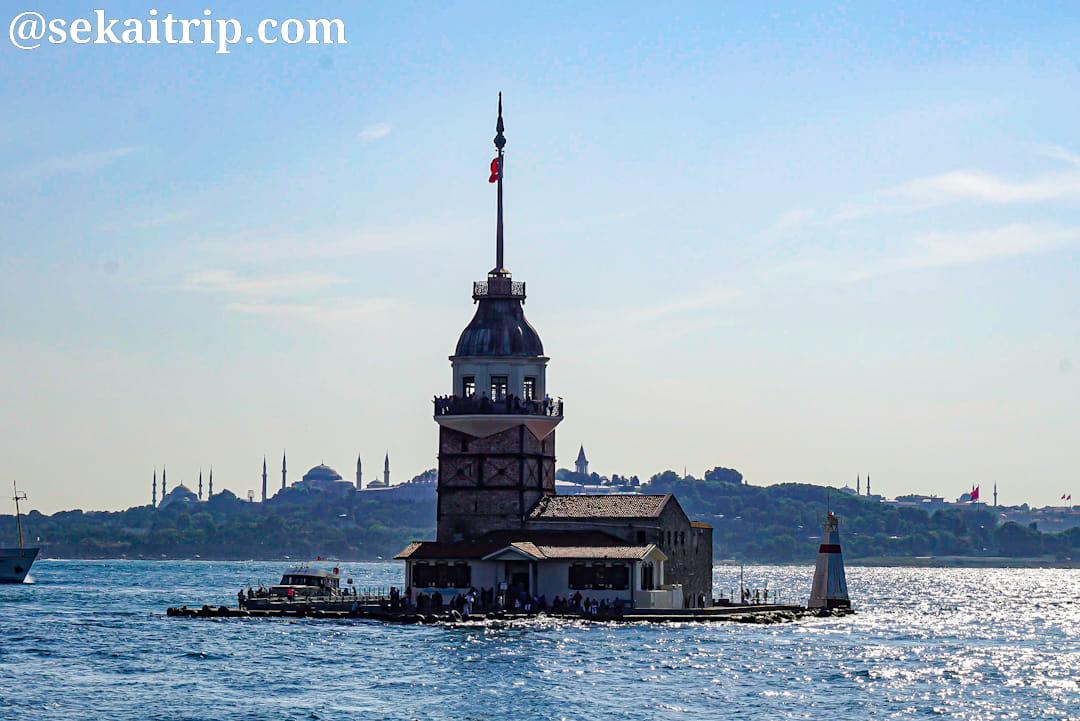 トルコ・イスタンブールの乙女の塔