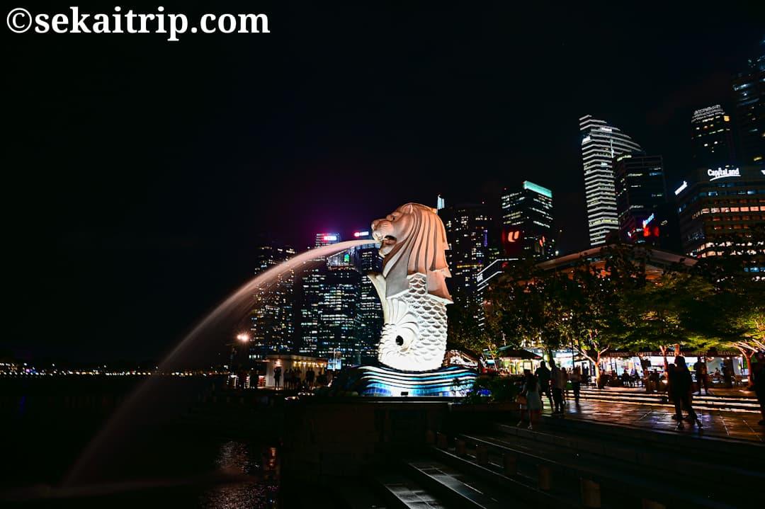 シンガポールのマーライオン(Merlion)