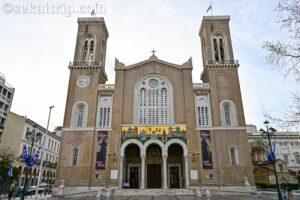 ギリシャ・アテネのミトロポレオス大聖堂(Metropolitan Cathedral of Athens)