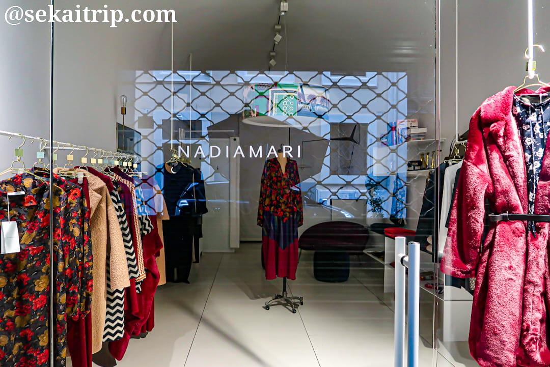 ナディアマリ(NADIAMARI)のローマ本店