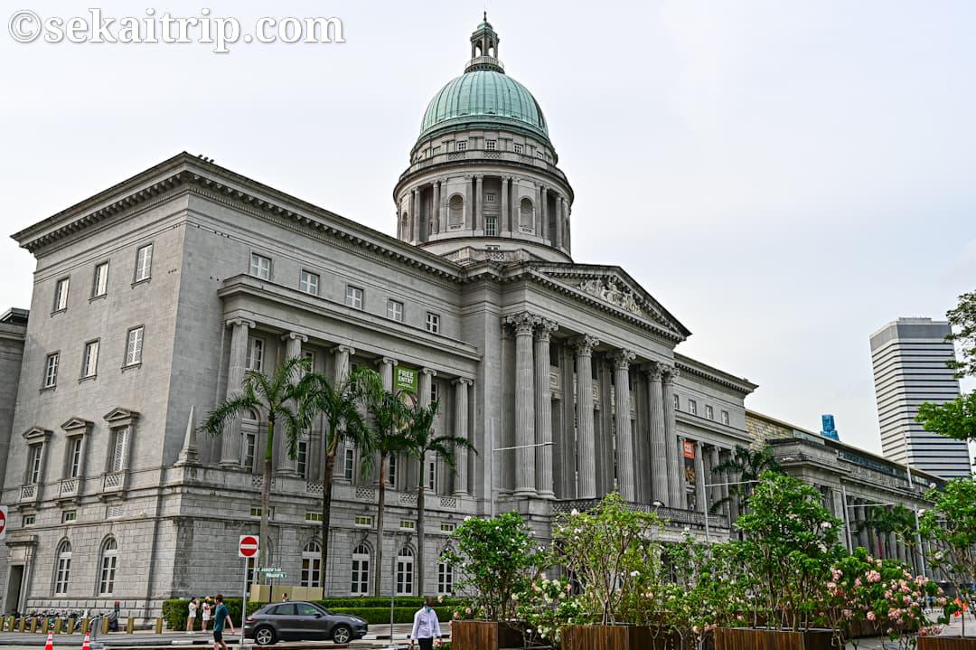 ナショナル・ギャラリー・シンガポール(National Gallery Singapore)