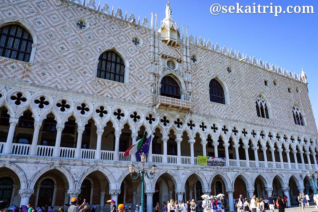 イタリア・ベネチアのドゥカーレ宮殿(Palazzo Ducale)