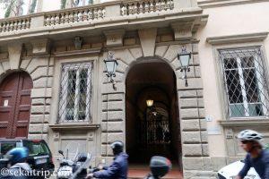 フィレンツェのプッチ宮殿
