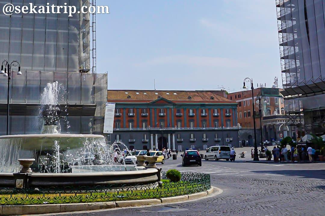 王宮(Palazzo Reale di Napoli)