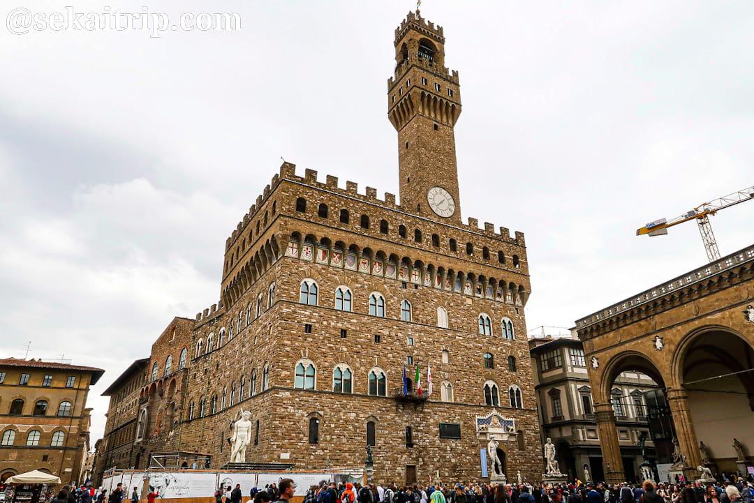 イタリア・フィレンツェのヴェッキオ宮殿(Palazzo Vecchio)