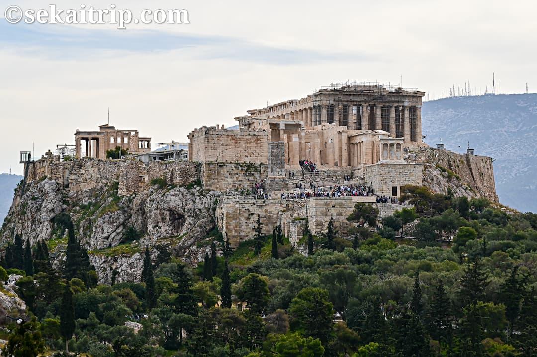 ギリシャ・アテネのパルテノン神殿(Parthenon)