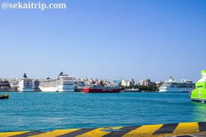 ギリシャ・アテネのピレウス港(Piraeus Port)