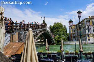 イタリア・ベネチアのアカデミア橋(Ponte dell'Accademia)