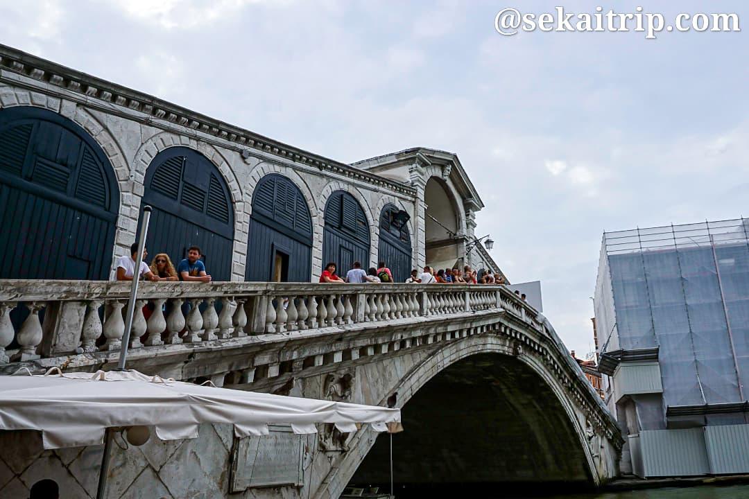 イタリア・ベネチアのリアルト橋(Ponte di Rialto)