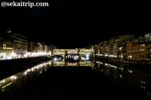 イタリア・フィレンツェのヴェッキオ橋(Ponte Vecchio)