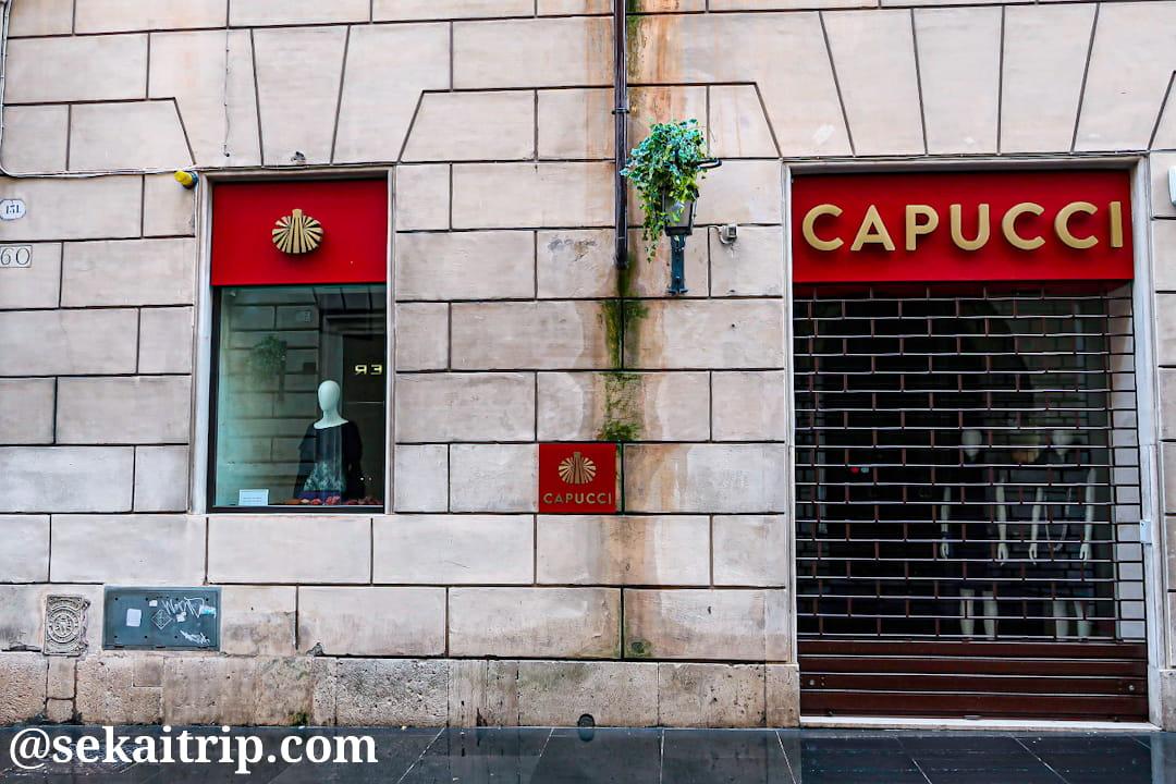 ロベルト・カプッチ(ROBERTO CAPUCCI)のローマ旗艦店