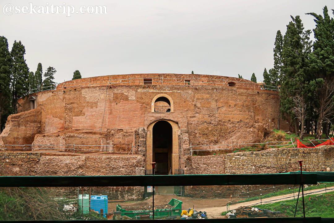 アウグストゥス廟(Mausoleo di Augusto)