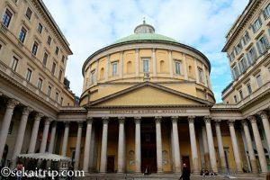 イタリア・ミラノのサン・カルロ・アル・コルソ教会(San Carlo Al Corso)