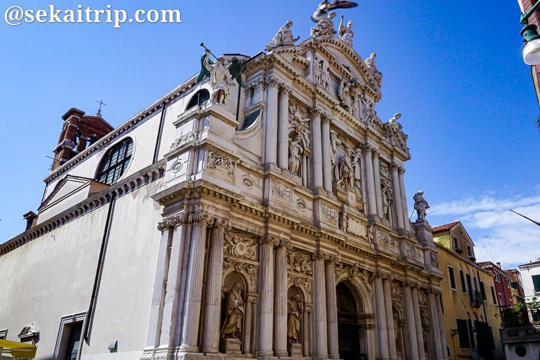イタリア・ベネチアのサンタ・マリア・デル・ジリオ教会(Santa Maria del Giglio)