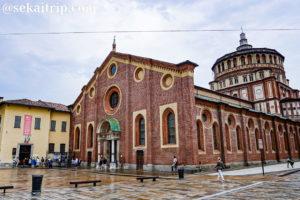 イタリア・ミラノのサンタ・マリア・デッレ・グラツィエ教会(Santa Maria delle Grazie)