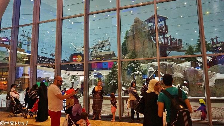 モール・オブ・ジ・エミレーツ(Mall of the Emirates)のスキー・ドバイ