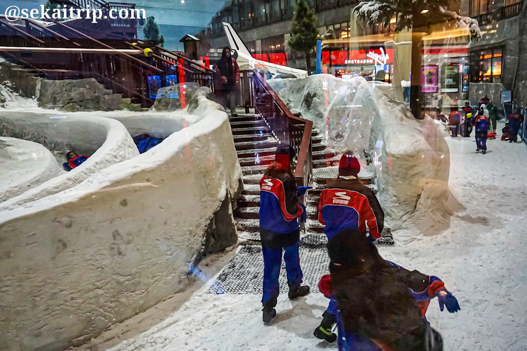 モール・オブ・ジ・エミレーツ(Mall of the Emirates)内にあるスキー・ドバイ