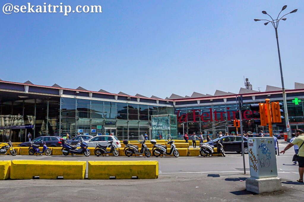 ナポリ中央駅(Stazione di Napoli Centrale)の外観