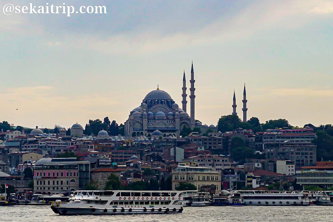 トルコ・イスタンブールのスレイマニエ・モスク(Süleymaniye Camii)