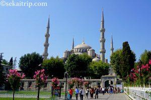 トルコ・イスタンブールのスルタンアフメト・モスク(Sultan Ahmet Camii)