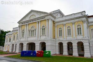 シンガポールのアーツ・ハウス(The Arts House)