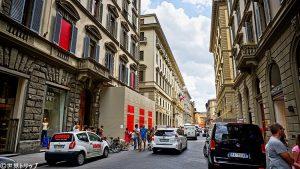イタリア・フィレンツェのローマ通り(Via Roma)