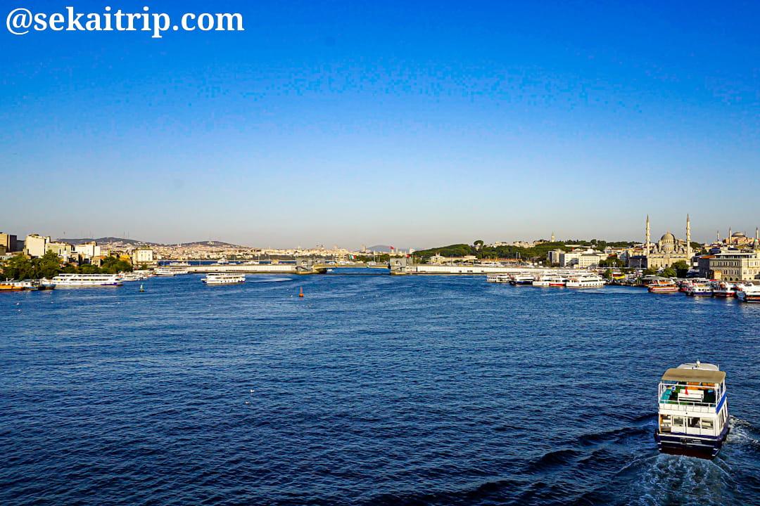 金閣湾メトロ橋から見た景色