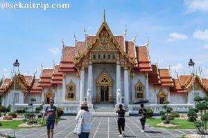 バンコクのワット・ベンチャマボーピット(Wat Benchamabopit)