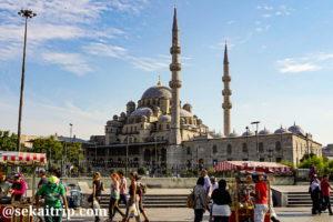 トルコ・イスタンブールのイェニ・モスク(Yeni Cami)