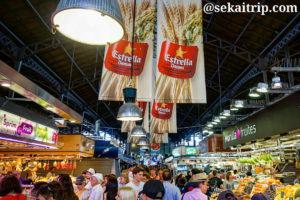 バルセロナのボケリア市場(Mercado de La Boqueria)