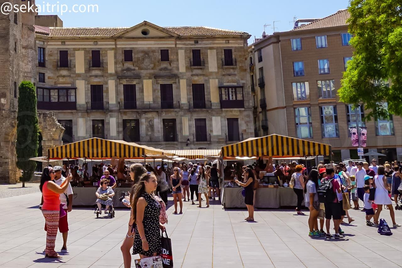 バルセロナのゴシック市場(Mercat Gotic)