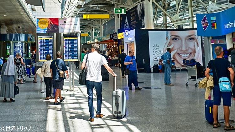ポルトガル・リスボンのポルテーラ空港