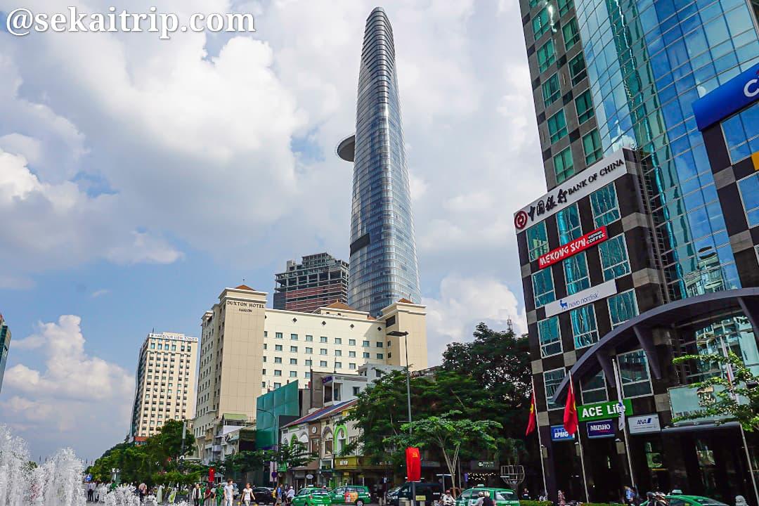 ホーチミンのビテクスコ・フィナンシャル・タワー(Bitexco Financial Tower)