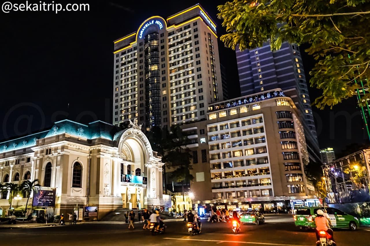ホーチミンのドンコイ通り(Dong Khoi Street)