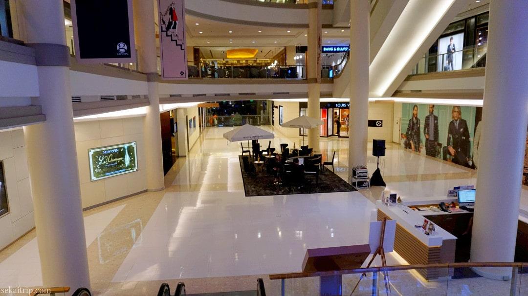 バンコクのゲイソーン・ショッピング・センター(Gaysorn Shopping Centre)内