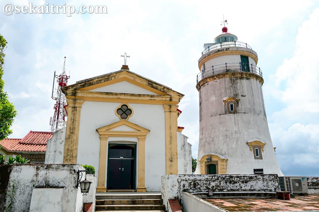 マカオのギア要塞(東望洋炮台/Guia Fortress)