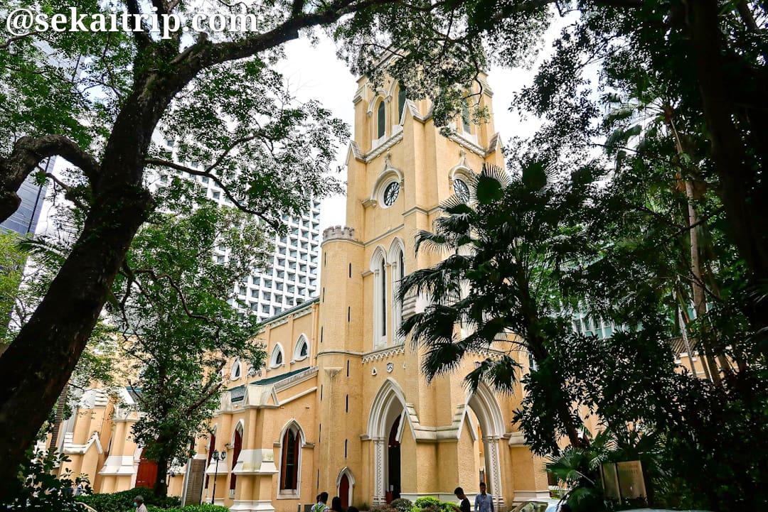 香港のセント・ジョンズ大聖堂(St. John's Cathedral)