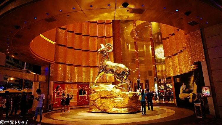 MGMマカオ(澳門美高梅)の入口