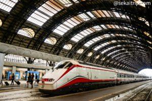 イタリア・ミラノ中央駅