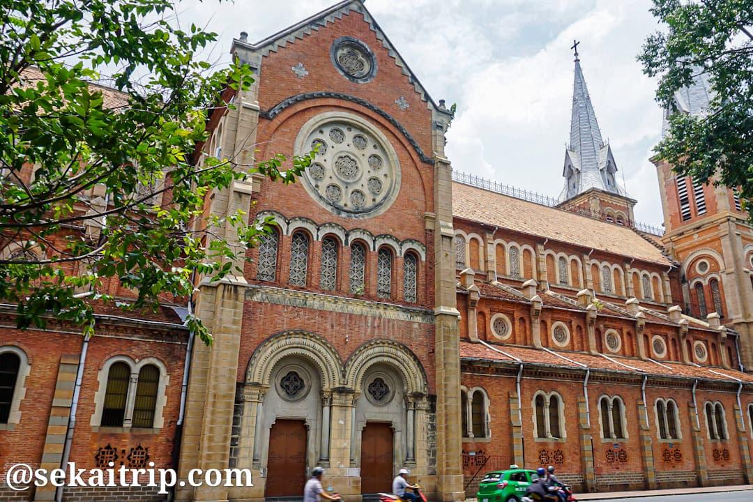 ホーチミンのサイゴン大教会(聖母マリア教会)