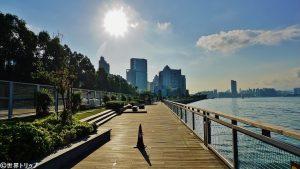 香港のクオリー・ベイ・プロムナード(Quarry Bay Promenade)