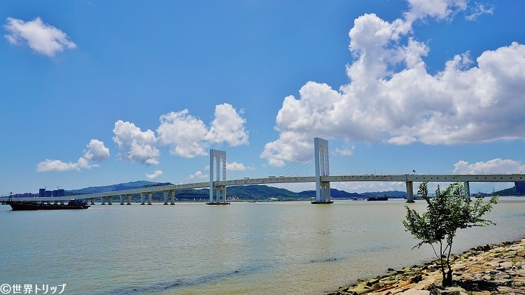 マカオの西灣大橋(Sai Van Bridge)
