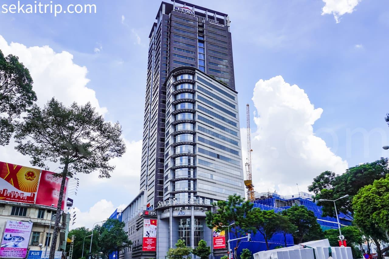 ホーチミン高島屋が入るサイゴン・センター(Saigon Center)