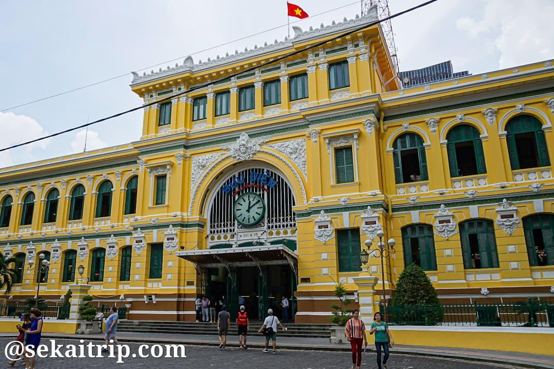 ベトナム・ホーチミンのサイゴン中央郵便局