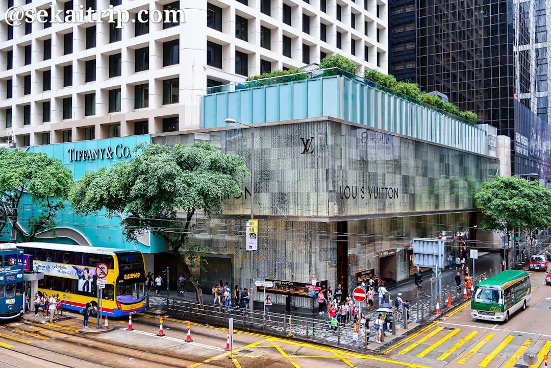 香港のザ・ランドマーク(The Landmark)