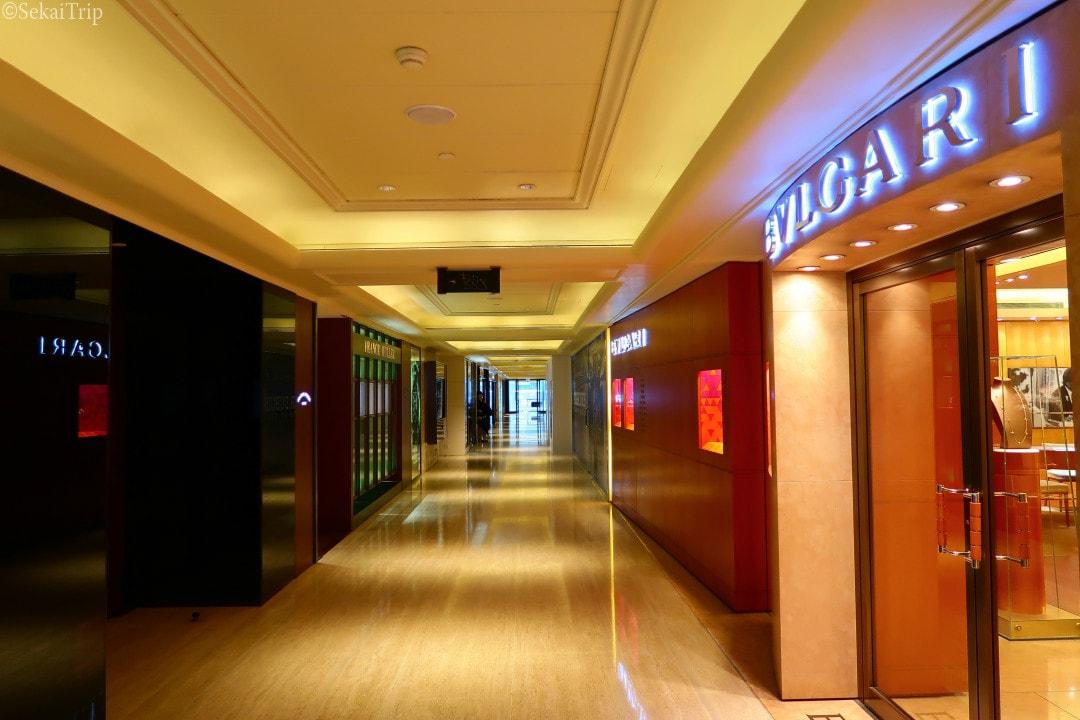香港の半島酒店商場