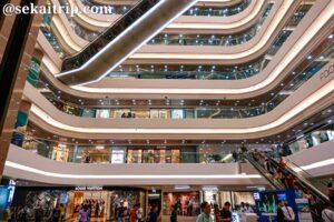 香港のタイムズ・スクエア(Times Square Hong Kong)内