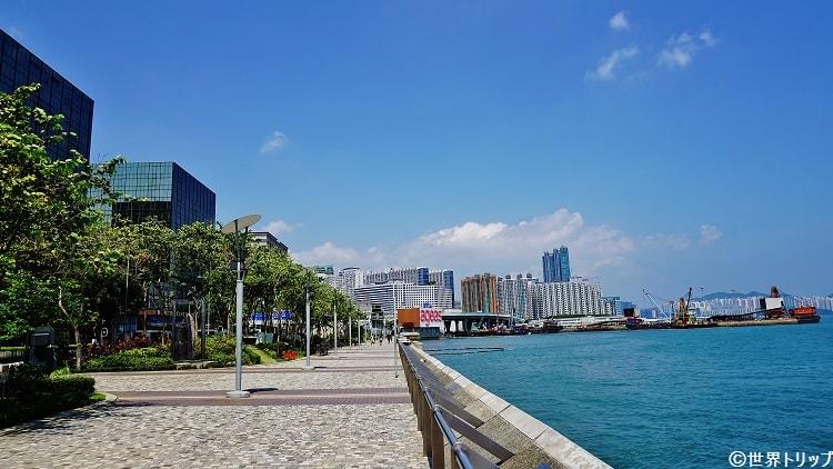 香港のチムサーチョイ・プロムナード(Tsim Sha Tsui Promenade)