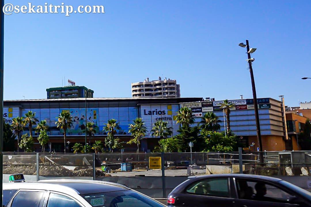 マラガのラリオス・セントロ・ショッピングセンター(Centro Comercial Larios Centro)
